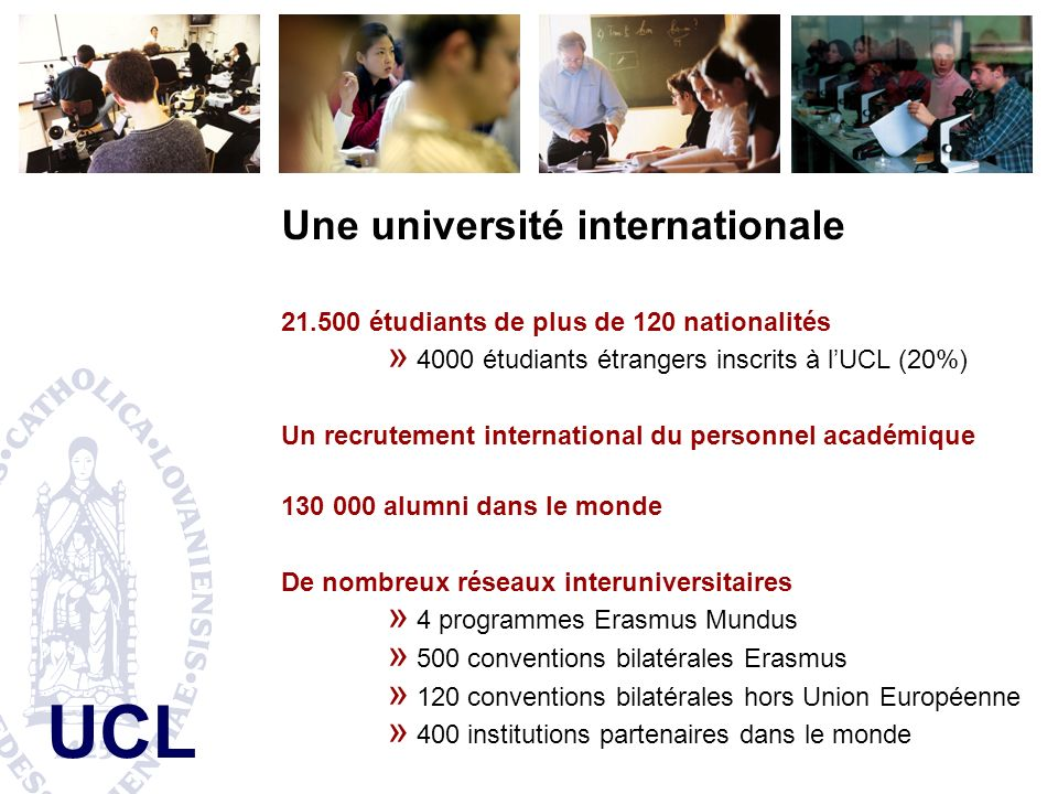 Une université internationale