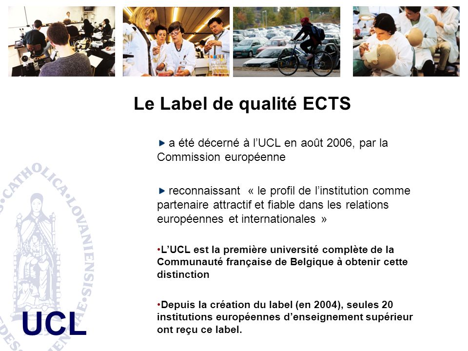 Le Label de qualité ECTS
