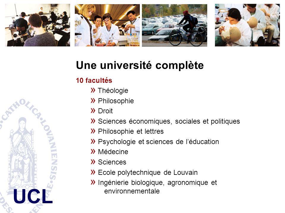 Une université complète