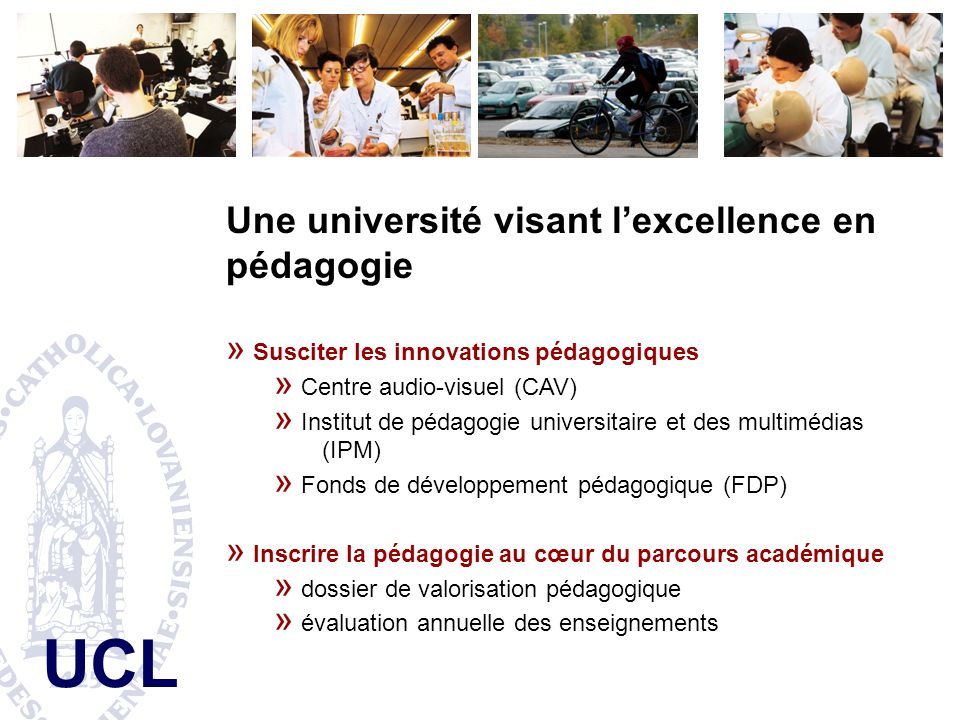 Une université visant l'excellence en pédagogie