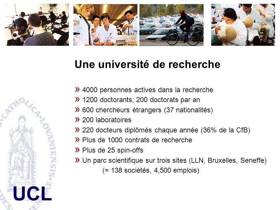 Une université de recherche