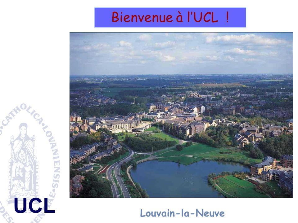 Bienvenue à l'UCL ! Louvain-la-Neuve