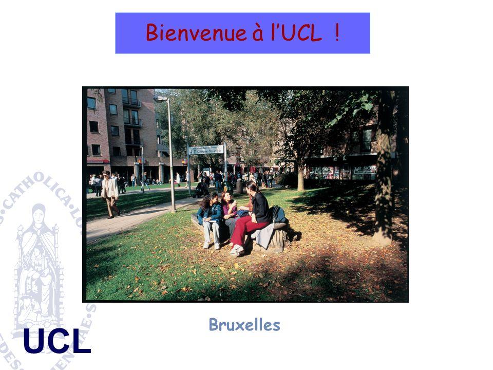Bienvenue à l'UCL ! Bruxelles