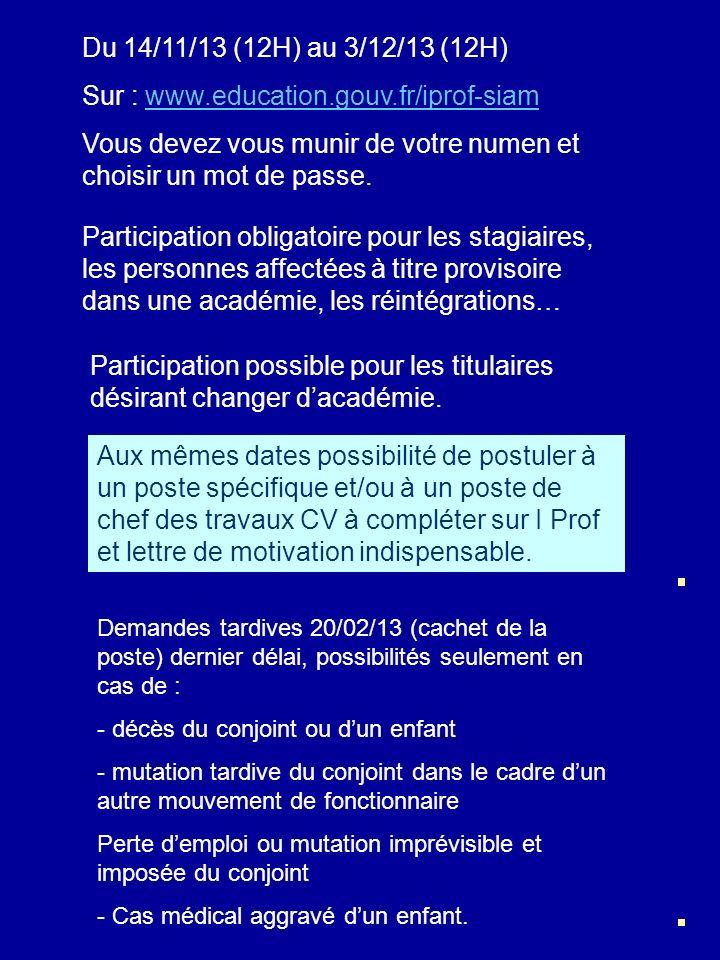 Sur : www.education.gouv.fr/iprof-siam