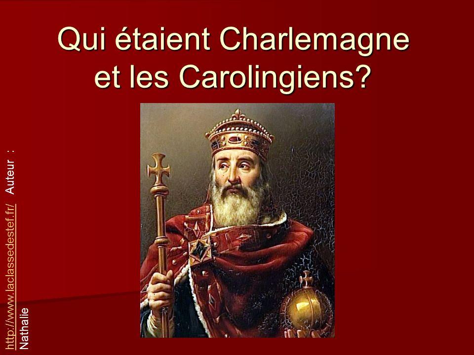 Qui étaient Charlemagne et les Carolingiens