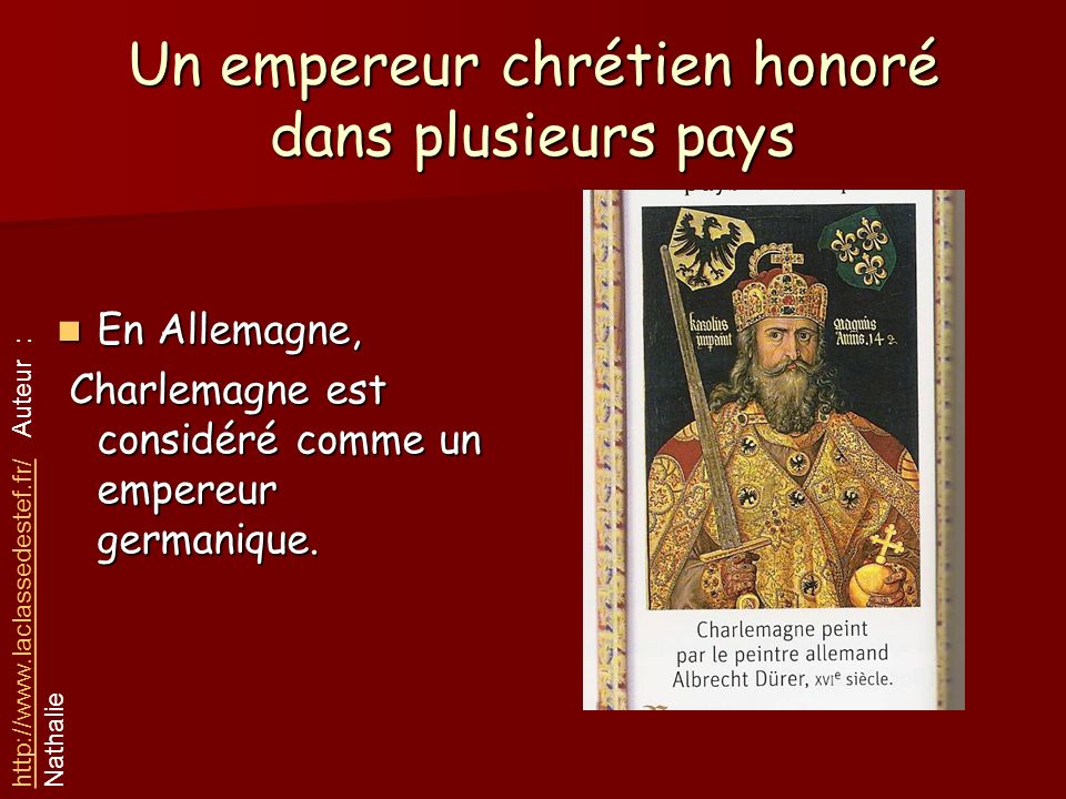 Un empereur chrétien honoré dans plusieurs pays