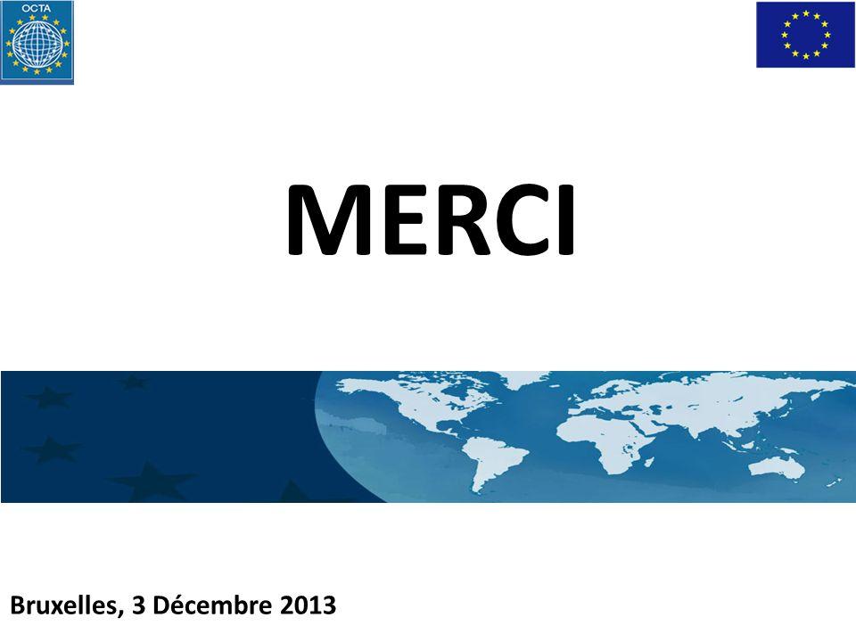 MERCI Bruxelles, 3 Décembre 2013