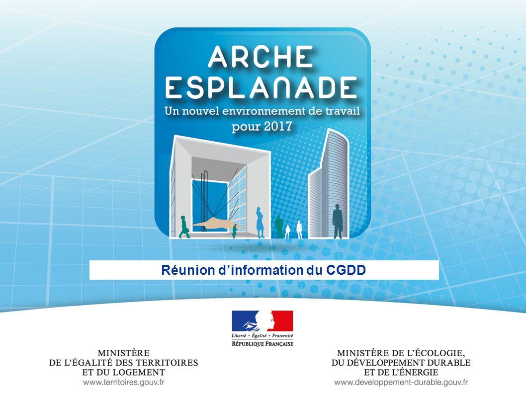 Réunion d'information du CGDD