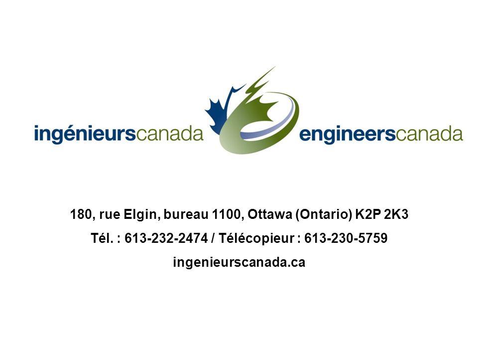 180, rue Elgin, bureau 1100, Ottawa (Ontario) K2P 2K3