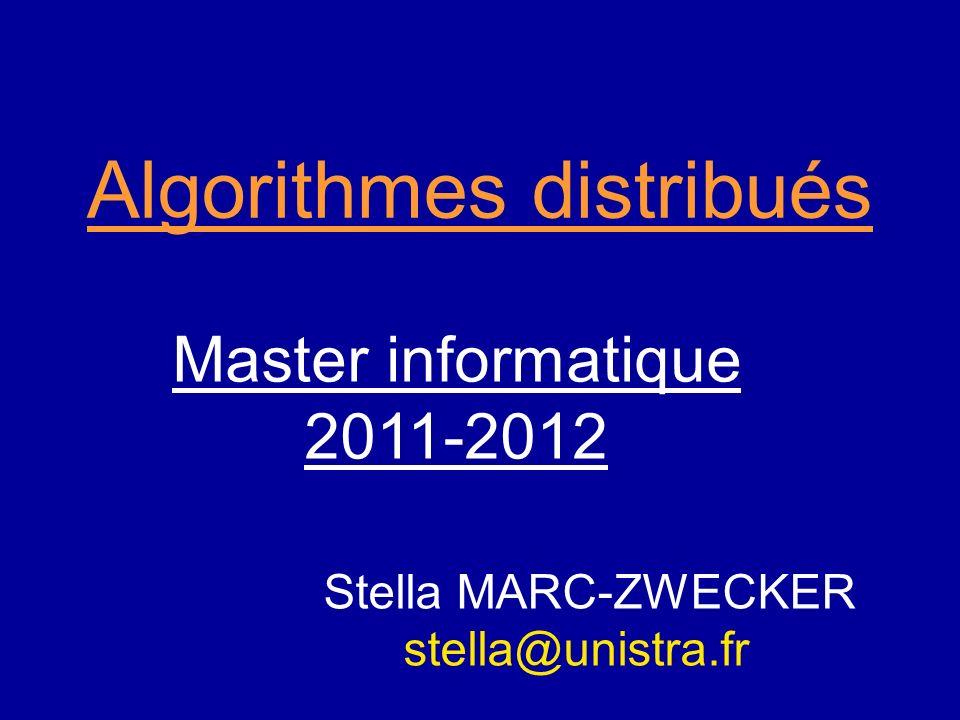 Algorithmes distribués