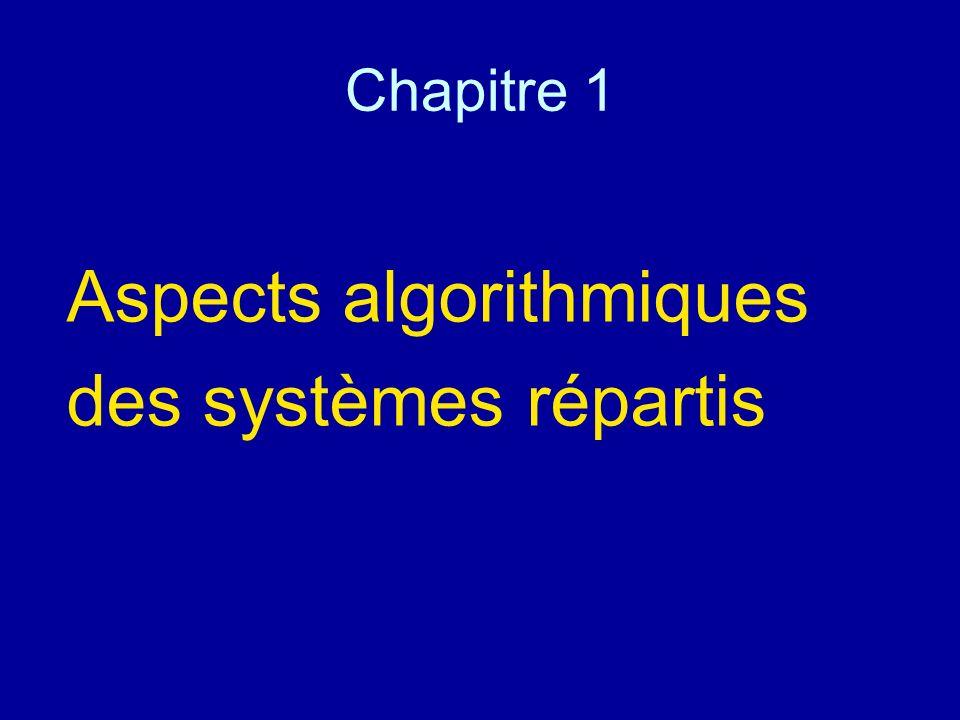 Aspects algorithmiques des systèmes répartis