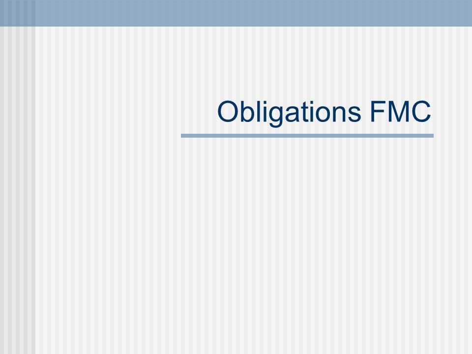 Obligations FMC