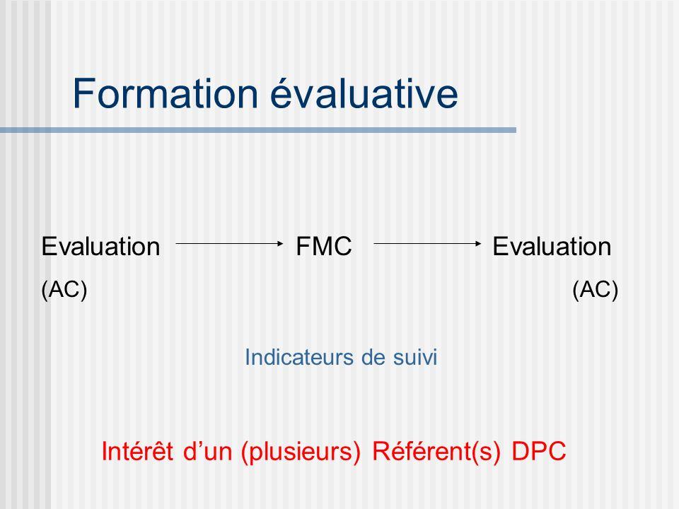 Intérêt d'un (plusieurs) Référent(s) DPC