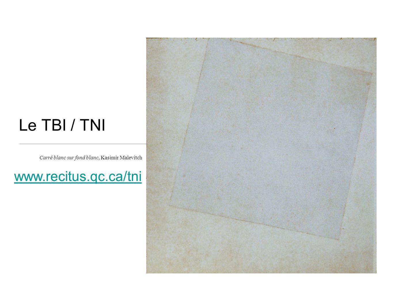 Le TBI / TNI www.recitus.qc.ca/tni