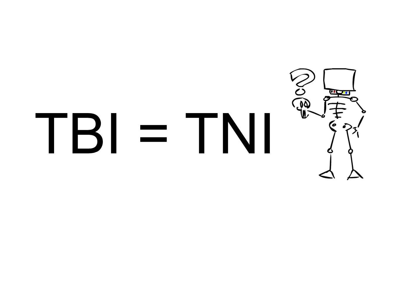 TBI = TNI