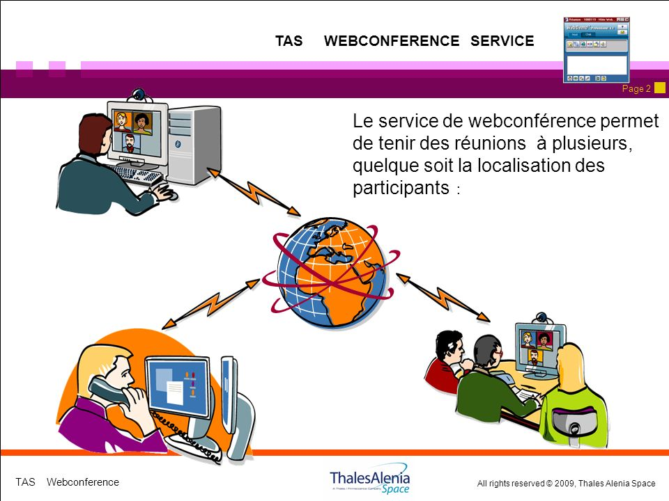 TAS WEBCONFERENCE SERVICE