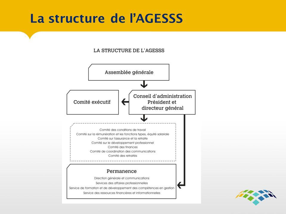 La structure de l'AGESSS