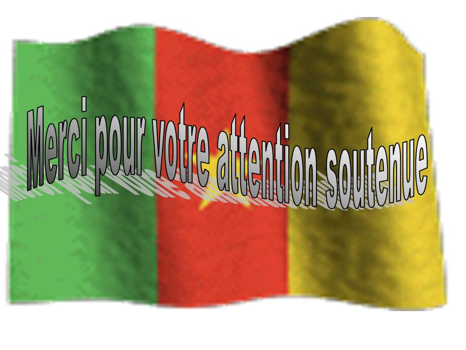 Merci pour votre attention soutenue