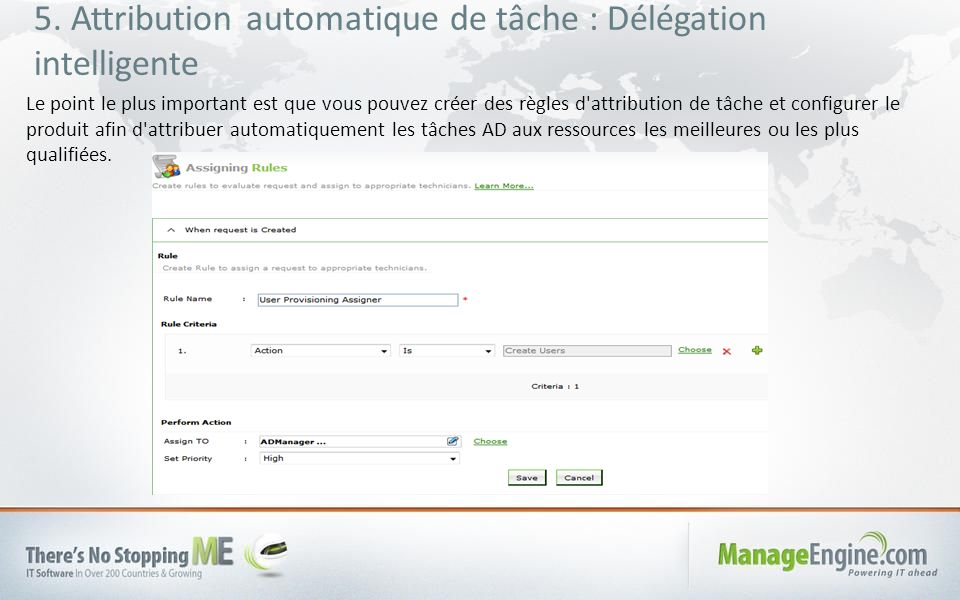 5. Attribution automatique de tâche : Délégation intelligente