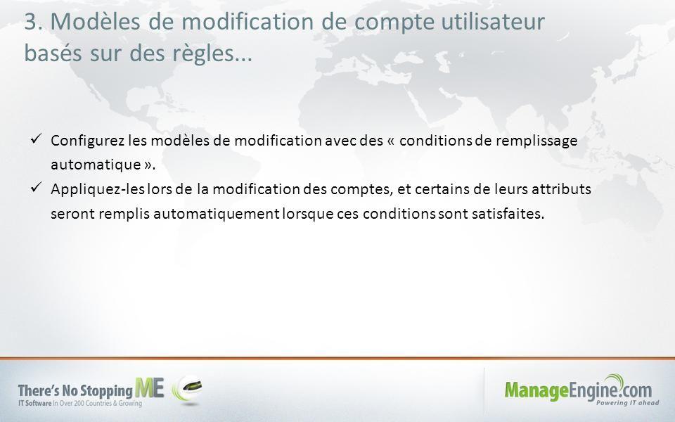 3. Modèles de modification de compte utilisateur basés sur des règles...