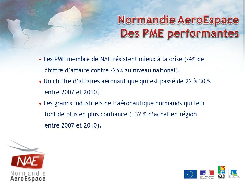 Normandie AeroEspace Des PME performantes