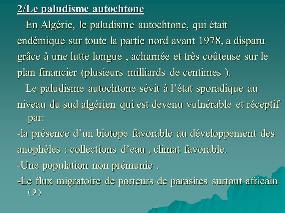 2/Le paludisme autochtone