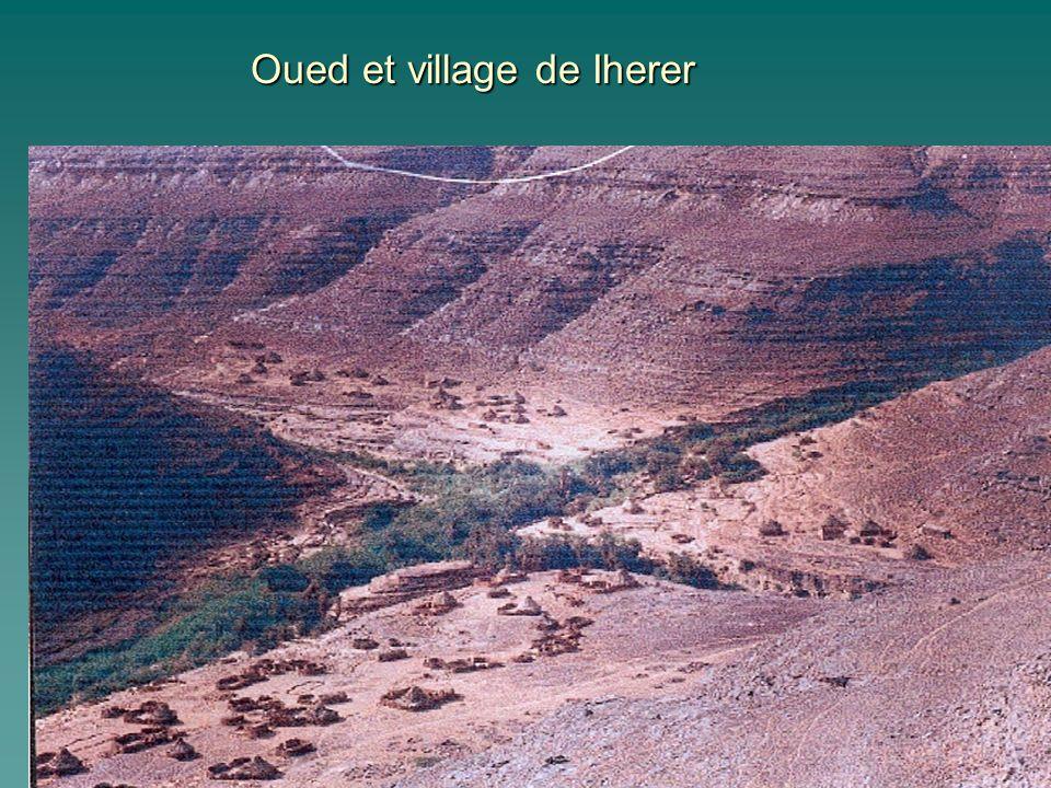 Oued et village de Iherer