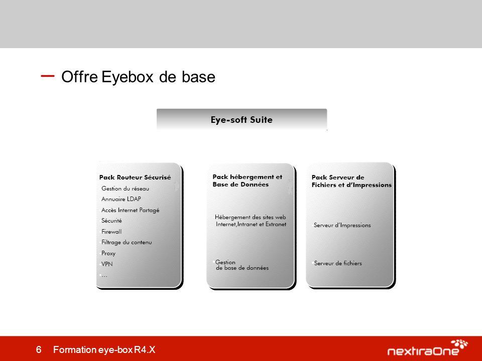 Offre Eyebox de base