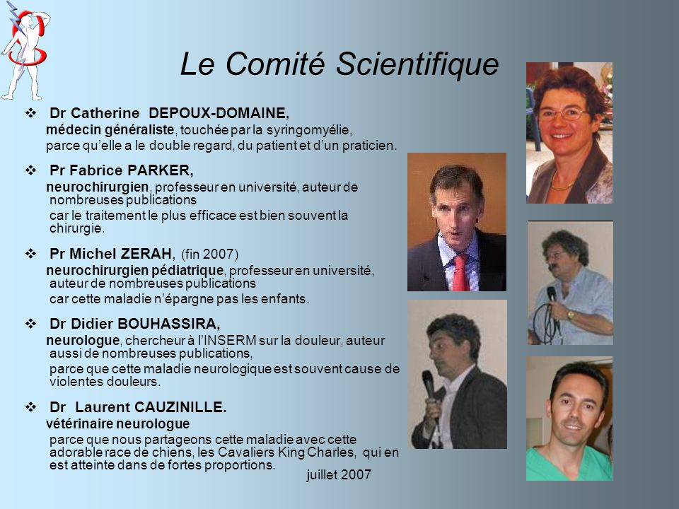 Le Comité Scientifique