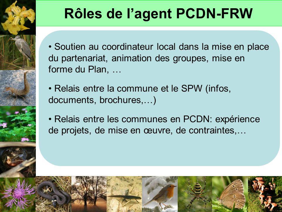 Rôles de l'agent PCDN-FRW