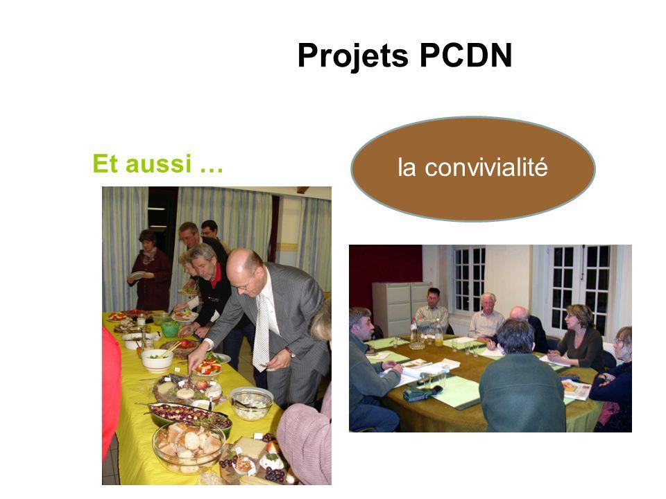 Projets PCDN Et aussi … la convivialité