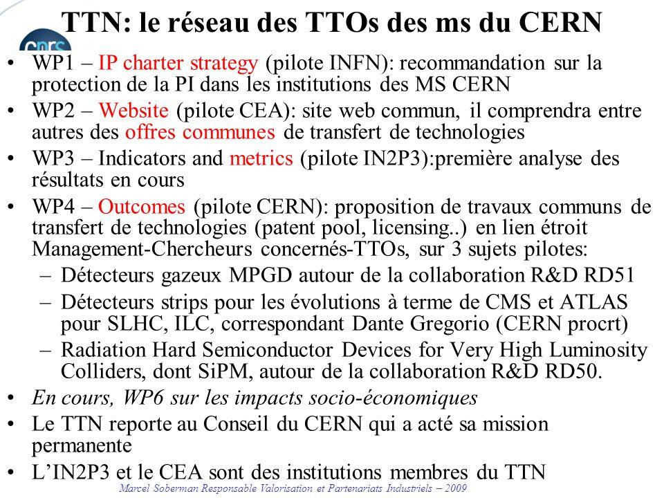 TTN: le réseau des TTOs des ms du CERN