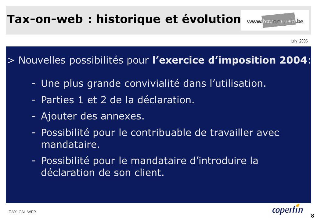 Tax-on-web : historique et évolution