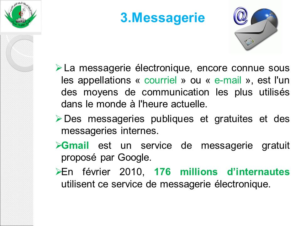3.Messagerie