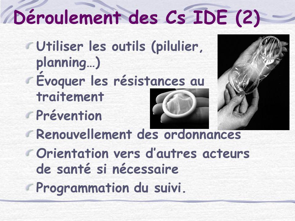 Déroulement des Cs IDE (2)