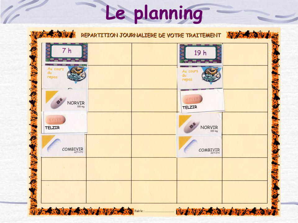 Le planning