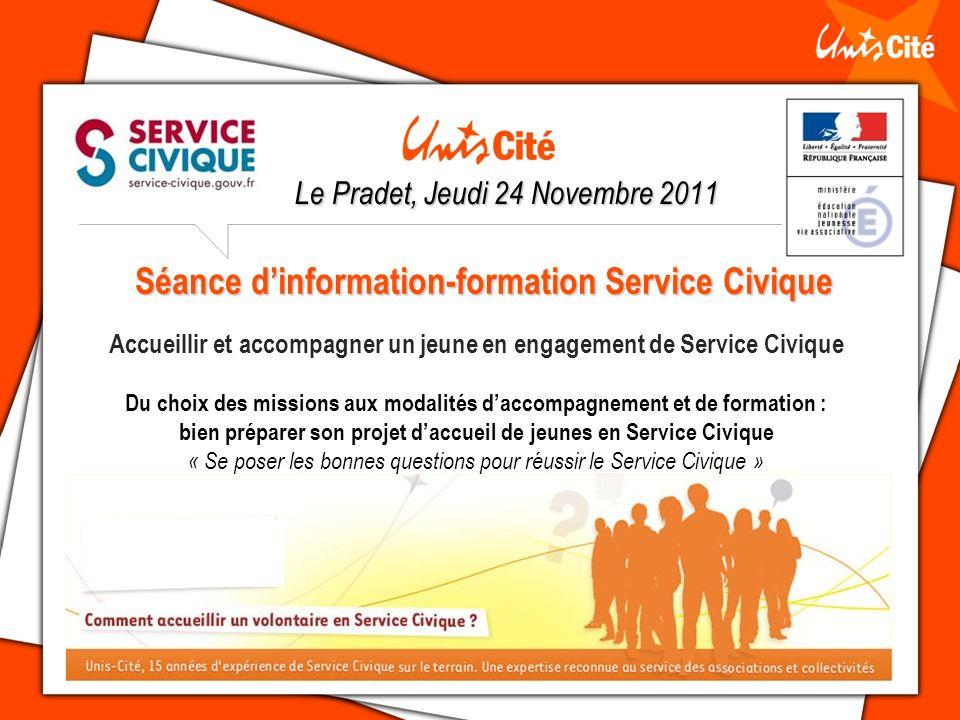 Séance d'information-formation Service Civique