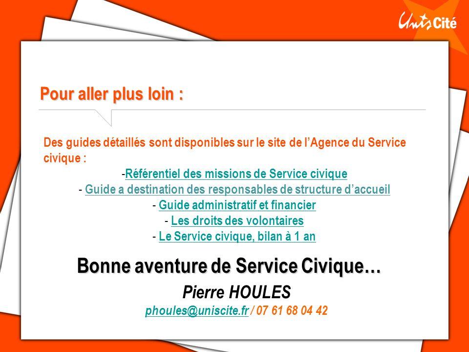 Bonne aventure de Service Civique…