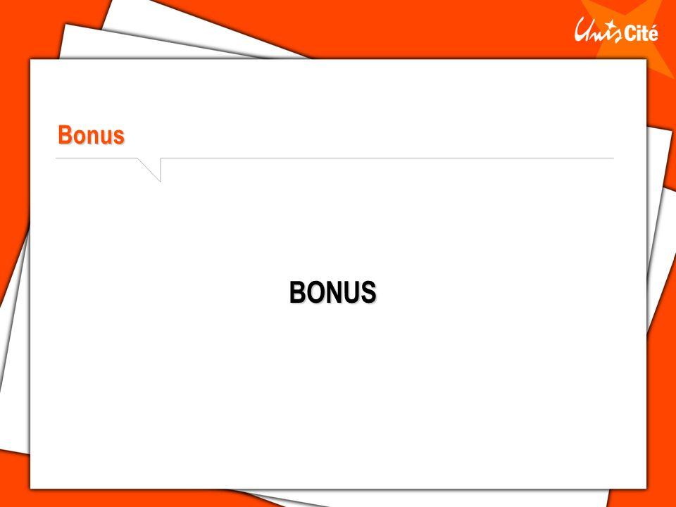 Bonus BONUS