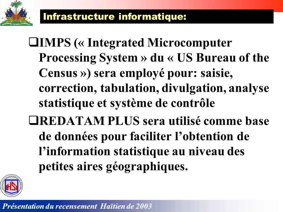 Infrastructure informatique: