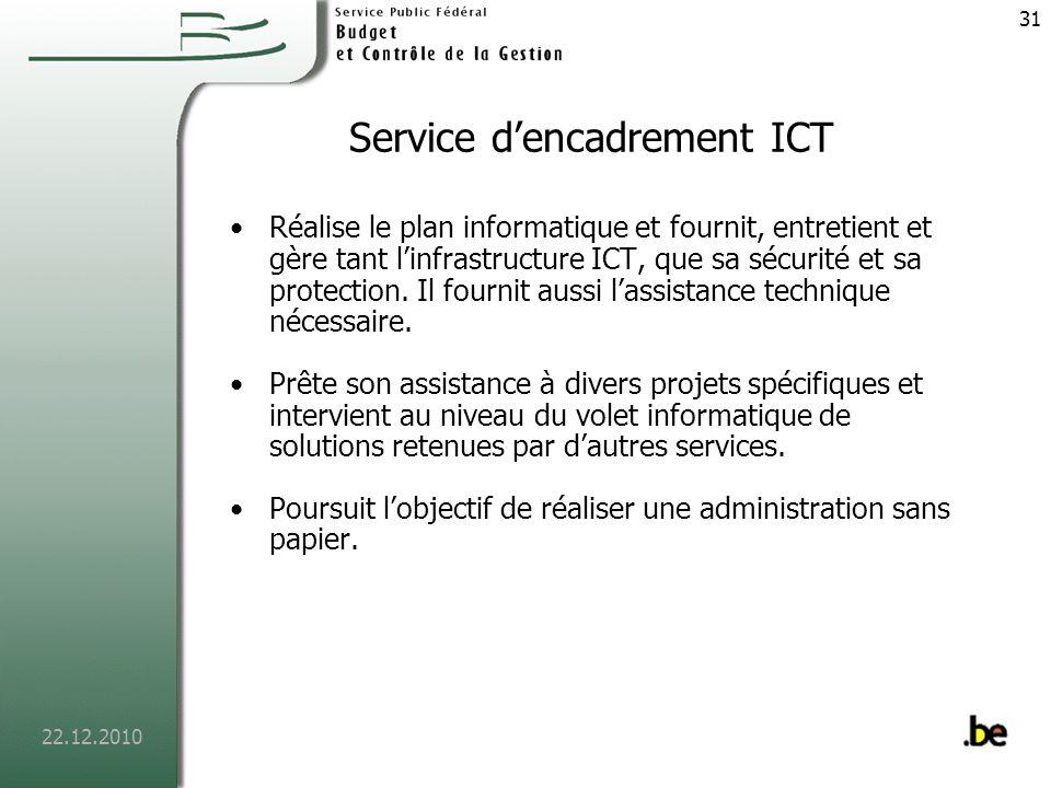 Service d'encadrement ICT
