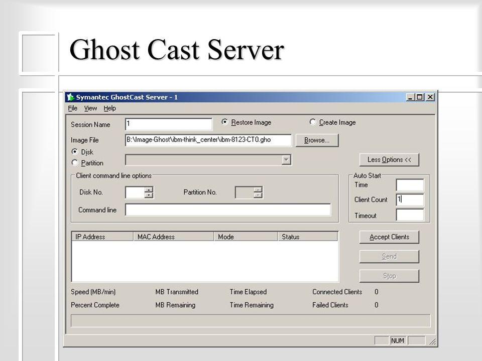 Ghost Cast Server