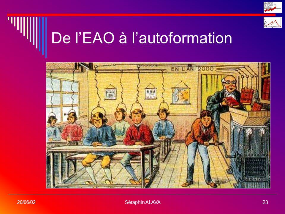 De l'EAO à l'autoformation