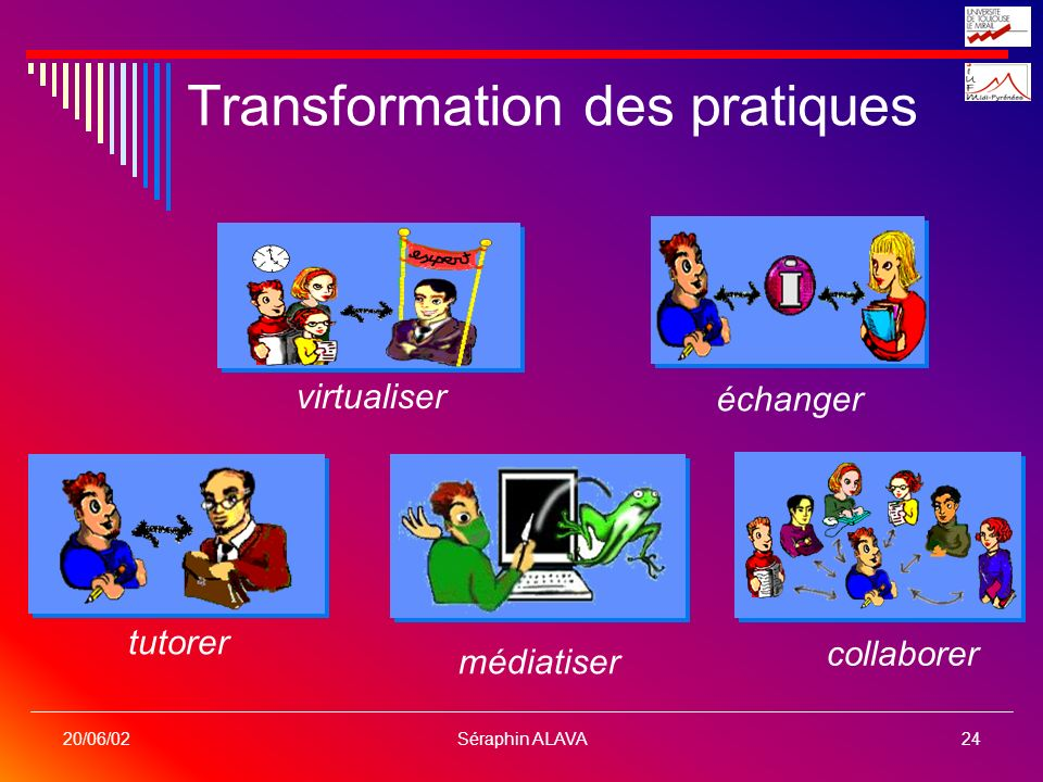 Transformation des pratiques