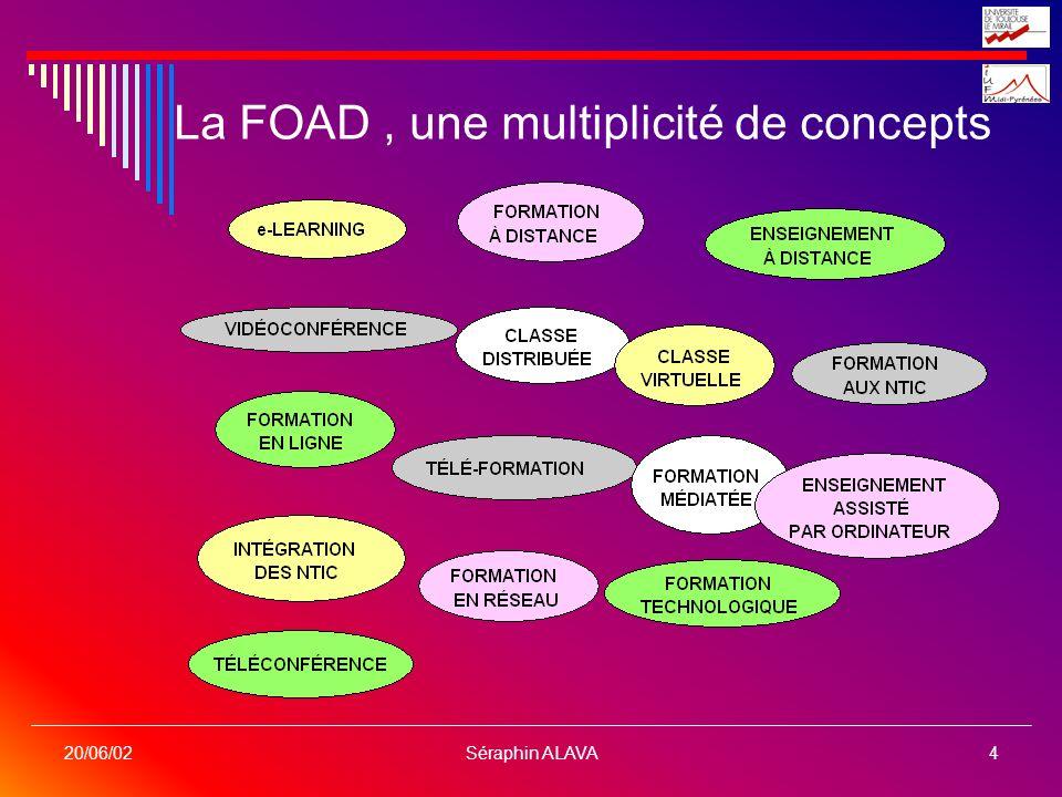 La FOAD , une multiplicité de concepts