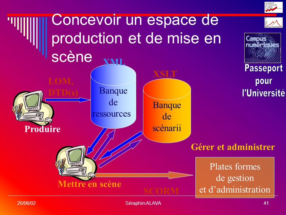 Concevoir un espace de production et de mise en scène