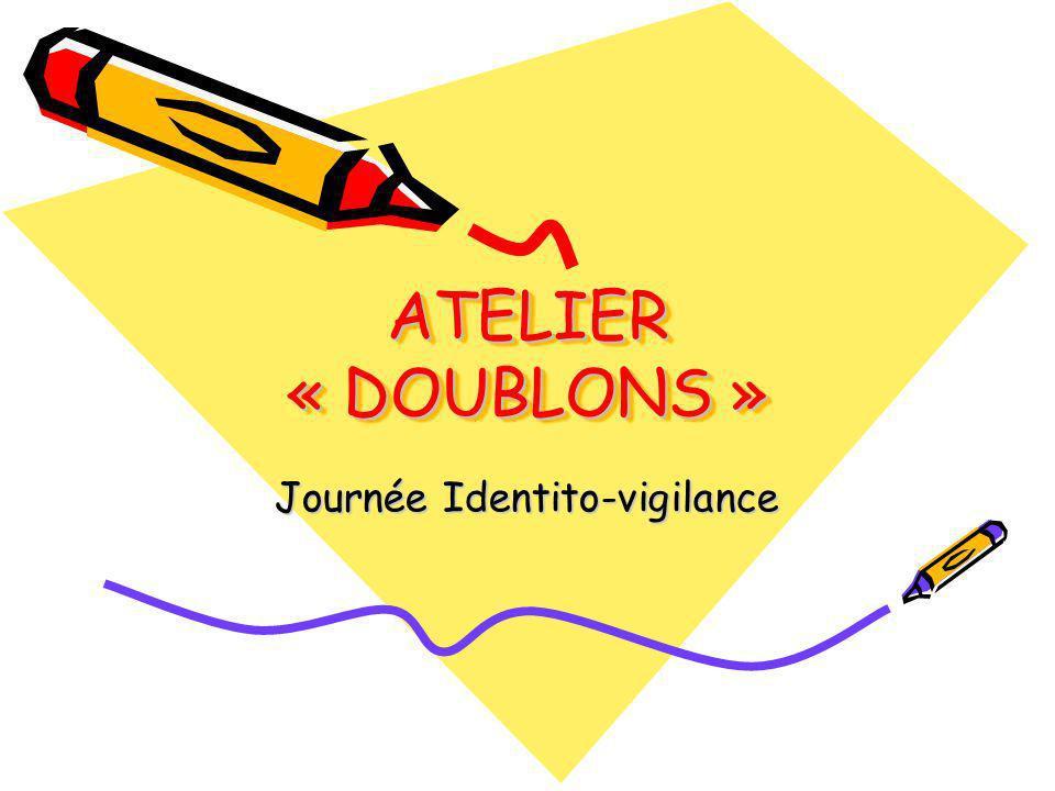Journée Identito-vigilance