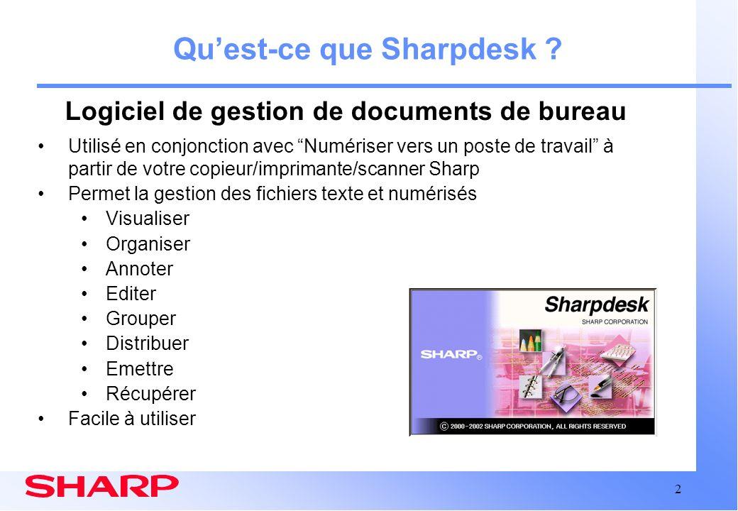 Logiciel de gestion de documents de bureau