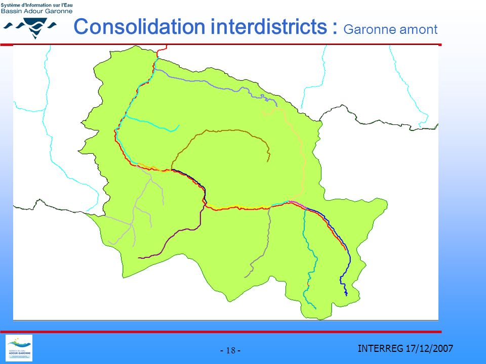 Consolidation interdistricts : Garonne amont