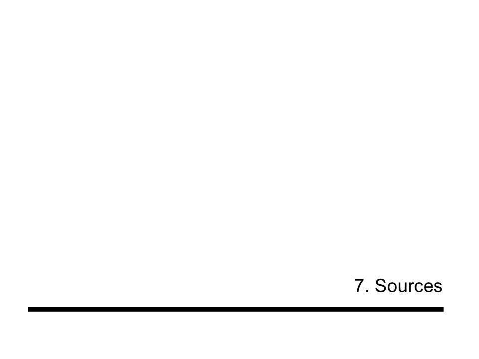 7. Sources